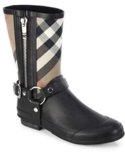 Burberry Moto Rain Boots