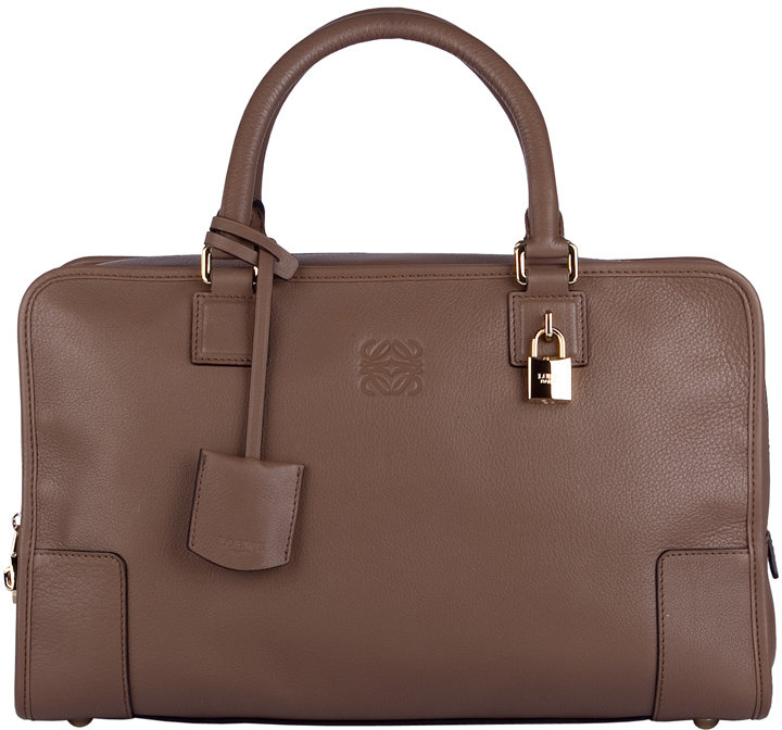Loewe Taupe Refined Calf Bag