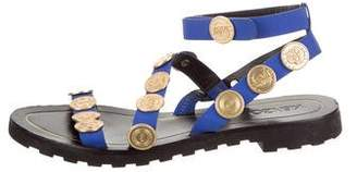 Kenzo Coins Embellished Slingback Sandals