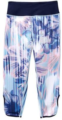 Zella Z by Print Highwaist Cut-Out Crop Pants (Little Girls & Big Girls)