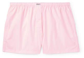 Les Girls Les Boys - Cotton Boxer Shorts - Men - Pink