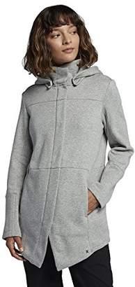 Hurley Junior's Winchester Hoodie Asymmetrical Full Zip Fleece