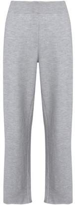 Calvin Klein Collection Marled Knitted Cashmere Wide-Leg Pants