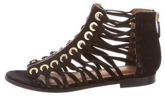 Givenchy Suede Gladiator Sandals