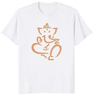 Ganesh Elephant God Hindu Minimalist India T-Shirt ()