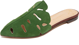 Charlotte Olympia Verdant Slippers $625 thestylecure.com