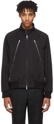 Maison Margiela Black Five-Zip Jacket