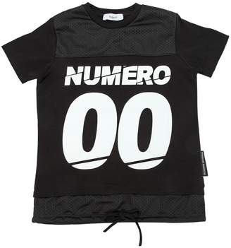 Numero 00 Logo Printed Cotton Jersey T-Shirt