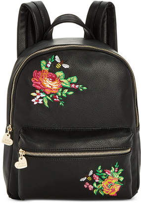 Betsey Johnson Embroidered Backpack