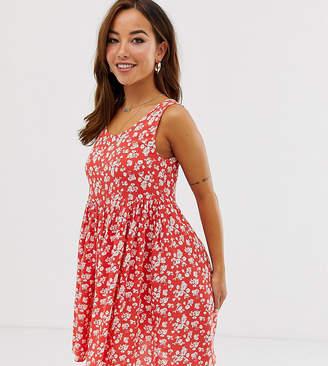 4e1fc62e9 Brave Soul Petite skater dress in floral print