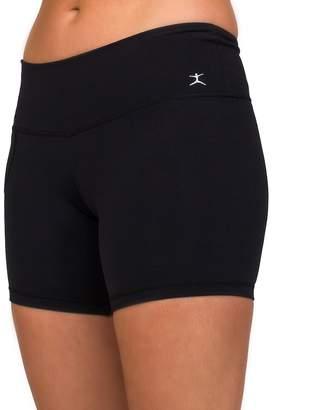 Danskin Women's Wide Waist Bike Shorts