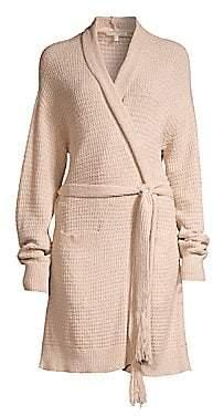 Skin Skin Women's Fiona Knit Cotton Wrap Robe