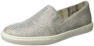 Rieker Women's L0950 Loafers, Grey (Grey/40)