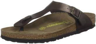 Birkenstock Women's Gizeh Cork Footbed Thong Sandal Off-White