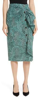 Max Mara Musette Ruffle Skirt