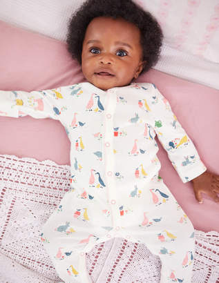 Boden Pretty Printed Sleepsuit