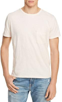 7 For All Mankind Heathered Pocket Tee