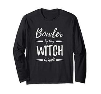 Bowler Witch Long Sleeve Shirt Bowling Halloween Costume