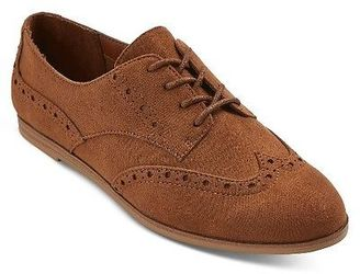 Women's Nannie Oxfords Flats - Mossimo Supply Co. $24.99 thestylecure.com