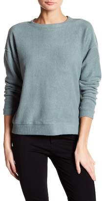 Bobeau Long Sleeve Knit Pullover $58 thestylecure.com