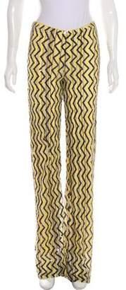 Missoni Sequined Mid-Rise Wide-Leg Pants