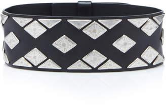 Isabel Marant Zony Embellished Leather Waist Belt