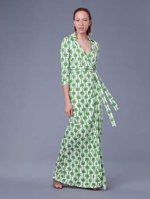Diane von Furstenberg The Abigail Silk Jersey Wrap Dress