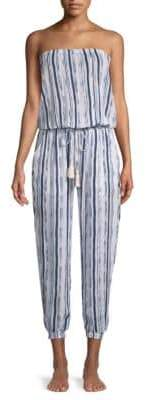 Cool Change Brooke Striped Jumpsuit