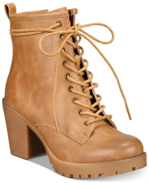 Ziginy Kourtlan Lace-Up Booties Women's Shoes