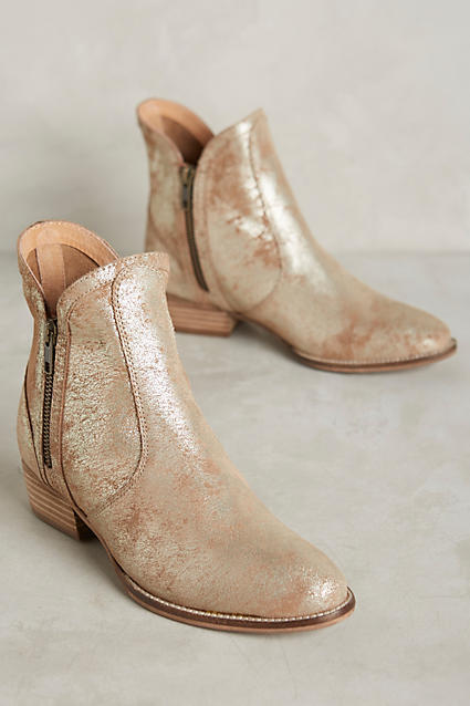 Anthropologie Seychelles Lucky Penny Booties