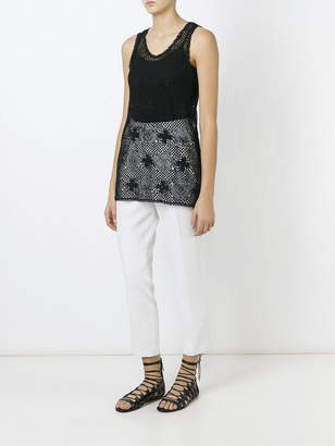 Chloé Sleeveless crochet top