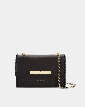 Ted Baker CASSIIA Concertina leather cross body bag