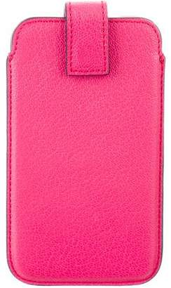 Smythson Leather Phone Case