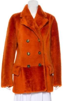 Gucci Vintage Shearling Jacket