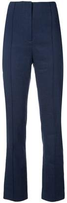 Diane von Furstenberg high waisted tailored trousers