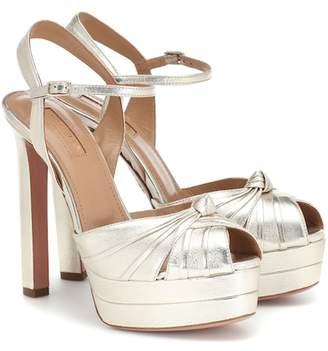 dfcf1c8373d1 Aquazzura Gold Sandals For Women - ShopStyle UK