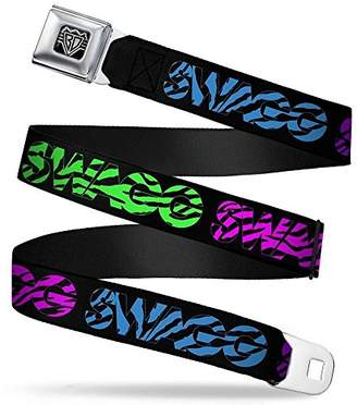 Buckle-Down Unisex-Adults Seatbelt Belt Swag Quote XL