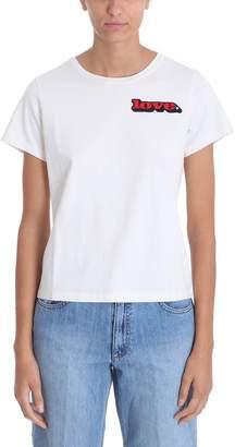 Marc Jacobs Love Beige Cotton T-shirt