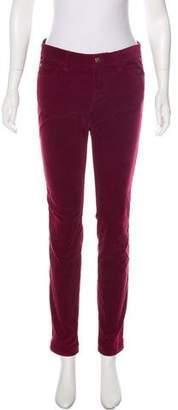 Louis Vuitton Mid-Rise Corduroy Pants