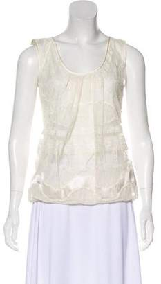 Ermanno Scervino Lace Sleeveless Top