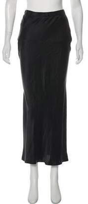 Alexander Wang Silk Midi Skirt