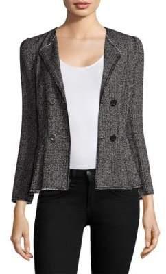 Shrunken Tweed Blazer