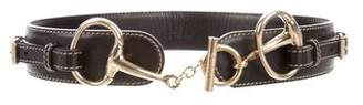 Gucci Horsebit Waist Belt