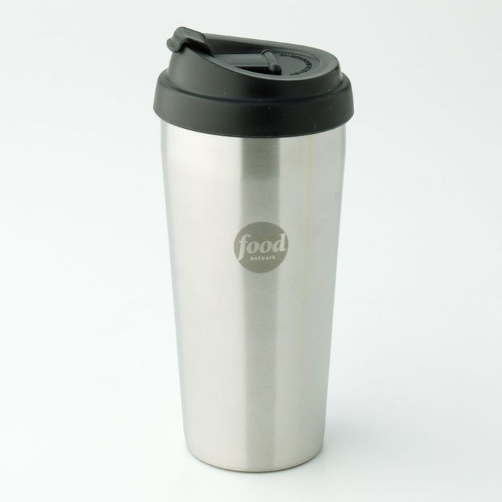 Food NetworkTM Stainless Steel Double-Wall Mug