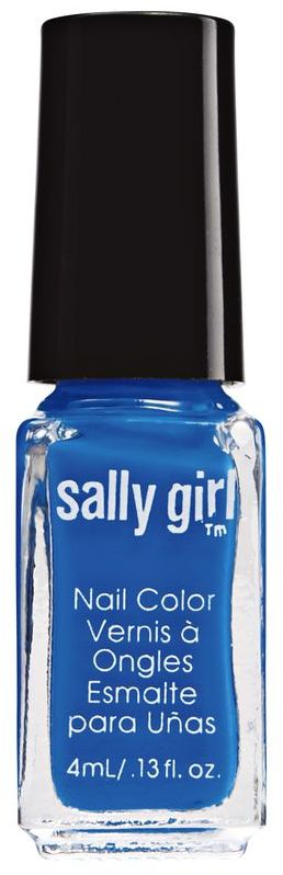 Sally Girl Blazing Blue Neon Nail Enamel