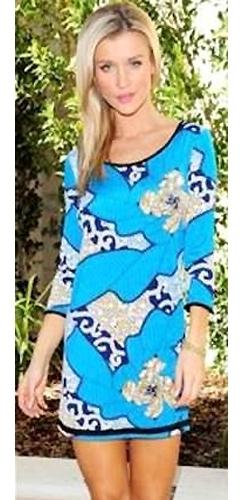 T-Bags Valeria Tunic Dress as Seen On Joanna Krupa