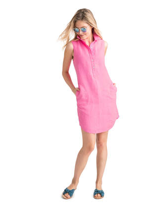 Vineyard Vines Sleeveless Shirt Dress