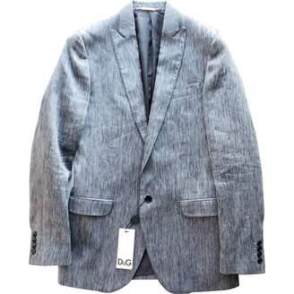 Dolce & Gabbana Grey Cotton Jackets