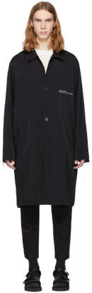 Song For The Mute Black Wander Beach Coach Coat