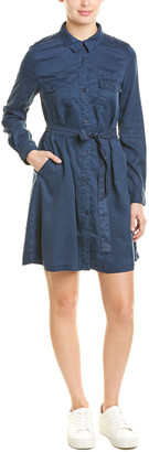 French Connection Tie-Waist Shirtdress